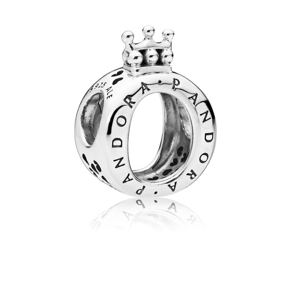 Pandora Crown O Charm In Sterling Silver 797401 Precio M U00e1s