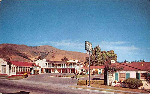 San Luis Obispo California Rose Bowl Court Vintage Postcard JA454011