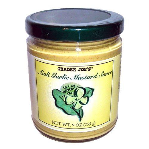 Trader Joe's Aioli Garlic Mustard (Lemon Mustard)