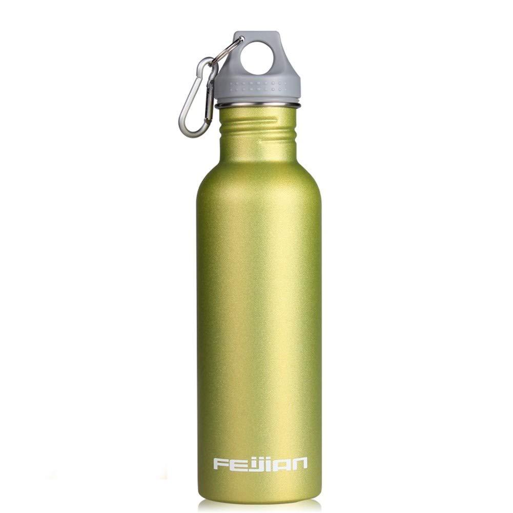 CMXHGKDJ Flasche Bunte Sportwasserflasche Große kapazität Tragbare Edelstahl Weithals Trinken Zyklus Im Freien Kesselflasche Lager