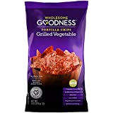 Wholesome Goodness Tortilla Chips, Grilled Vegetable, 9 Ounce (Pack of 1)