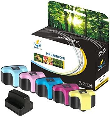 Catch suministros HP 02 alto rendimiento cartucho de tinta de ...