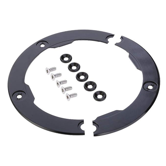 KESOTO Cubierta de Protector de Correa de Transmisión CNC para Yamaha TMAX530: Amazon.es: Coche y moto