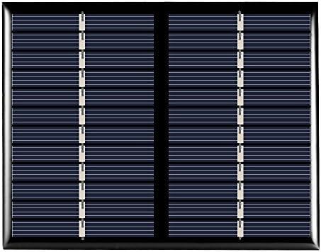 Decdeal Solarpanel Solarmodul Solarzelle Polykristallin 1.5W 12V