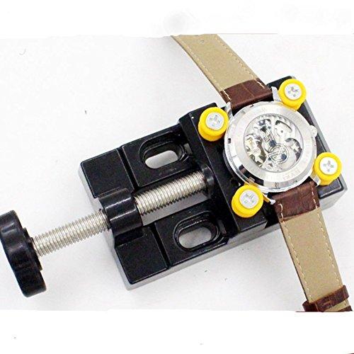 Zetti Adjustable Metal Watch Case Holder Tool & Watchmaker Tool ()