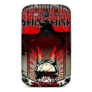 CharlesPoirier Samsung Galaxy S3 Bumper Hard Phone Cases Customized Realistic Metallica Skin [eeO1072VuCE]