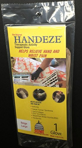 Handeze Therapeutic Support Glove, Large, Size 5, Beige, Single by Handeze ()