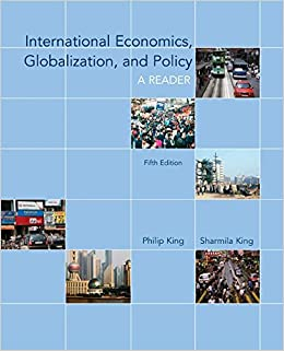 International Economics, Globalization, and Policy: A Reader (McGraw-Hill Economics)