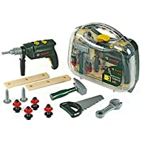 Bosch Tool Case with Hammer Drill,Toy Tools