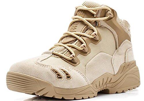 Militaires Combat Armée Bottines Mileeo Hommes Pour Trekking Randonnée Kaki Tactique Montagne hautes Mi Tactiques Chaussures Bottes avv5qzw