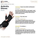 Copper Compression Arthritis Gloves - Guaranteed