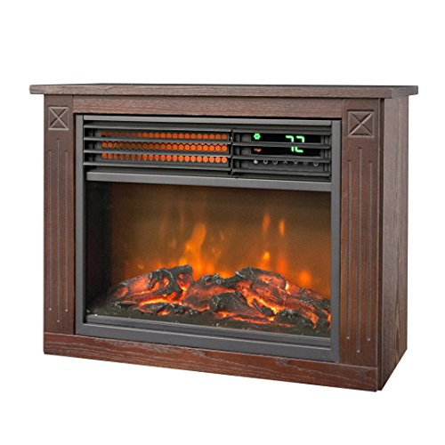 amish electric fireplace heater - 1
