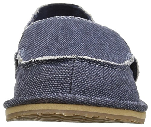 The Children's Place Boys' BB Slipon Deck Slipper, Navy, Youth 5 Medium US Infant - Image 4