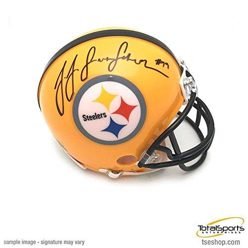 Signed Juju Smith-Schuster Mini Helmet - 75th Anniversary -