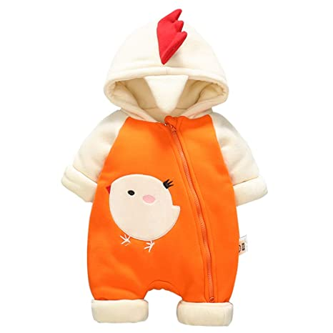 Bebé Mameluco Invierno Mono Manga Larga Bodys Algodón Pijamas Peleles