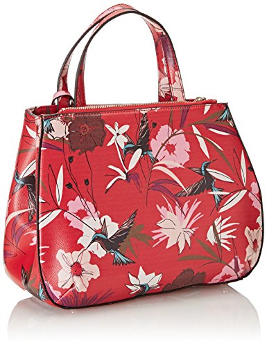 Floral x Hwff6693050 Donna x Rosso cm Red H 12x22 Mano 5x28 Guess Borsa L 5 a W aIdvvq
