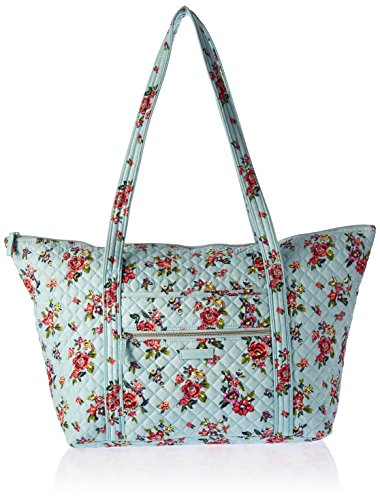 Vera Bradley Iconic Miller Travel Bag, Signature Cotton, Water Bouquet