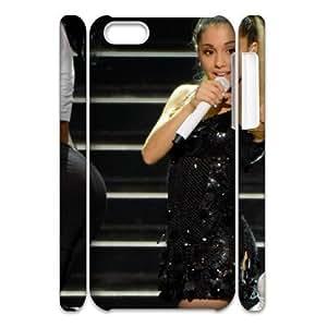 LJF phone case C-EUR Diy 3D Case Ariana Grande for iphone 5/5s