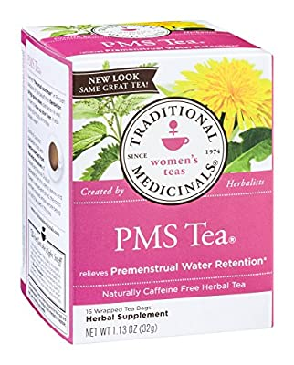 Traditional Medicinals PMS Herb Tea -- 3x16 Bag