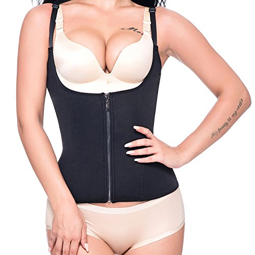 1b9fe22d37 KIWI RATA Neoprene Slimming Vest Hot Sweat Sauna Suit Shirt Tank Top Curves  Body Shaper for