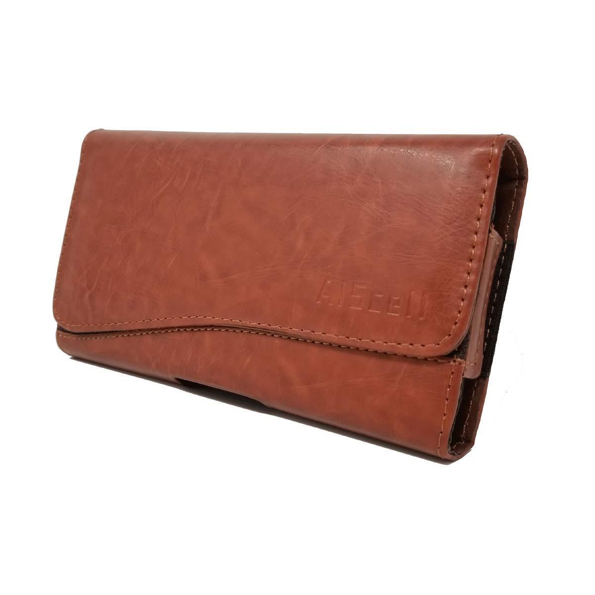 009bfaa32068 Amazon.com: AIScell Wallet Belt Pouch for Moto G7 Power, e5 Plus, e5 ...