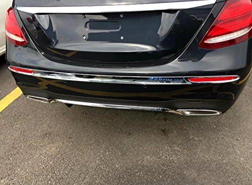 1 pezzo 2020 ABS cromato Copertura paraurti posteriore per E Class W213 Sport 2016