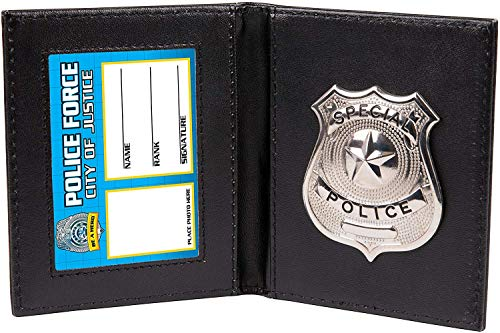 Kids Pretend and Play Police Wallet with
