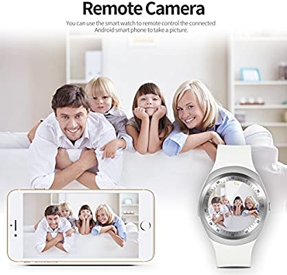 SEPVER Reloj Inteligente Smartwatch para iOS iPhone y Android ...