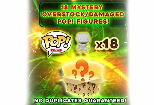Funko Pop Mystery Box  Damaged Overstock Vinyl Figures 18Pack