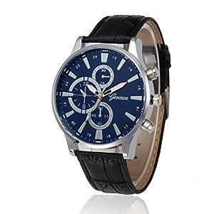 Men's Watches, Hmlai Fshion PU Leather Band Business Analog Quartz Vogue Watches
