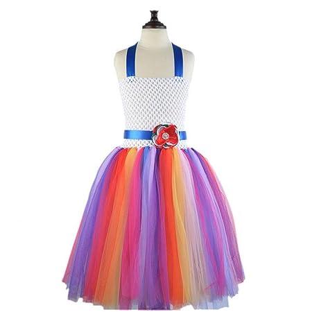 YIJIAHUI - Falda de Tul para niñas para Disfraz, Disfraz, Princesa ...