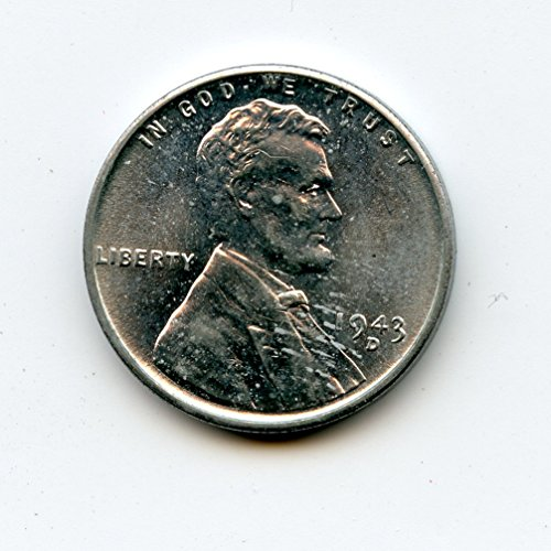 1943 D Lincoln Cent MS-65