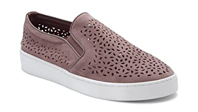 d7639921f1dc Vionic Women s Splendid Midi Perf Slip-on - Ladies Sneakers with Concealed  Orthotic Arch Support
