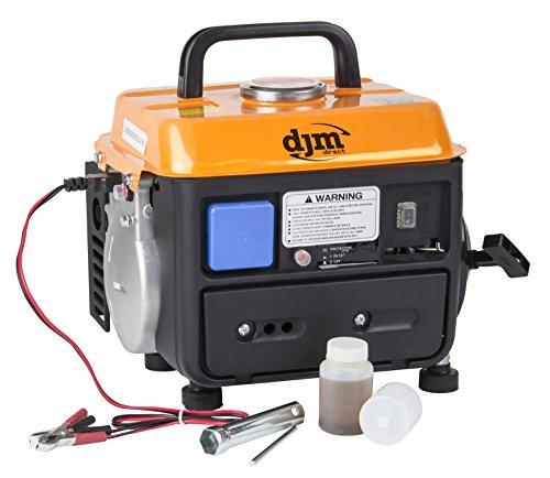 DJM Portable Compact Quiet Suitcase Boat Caravan Camping Petrol Generator...