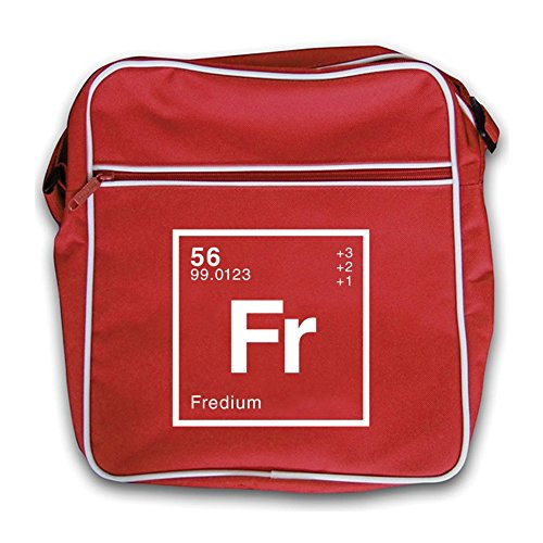 Fred Flight Element Periodic Bag Red Dressdown Retro AxqInId