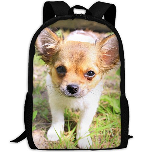 CY-STORE Cute Puppy Dog Animal Outdoor Shoulders Bag Fabric Backpack Multipurpose Daypacks For Adult by CY-STORE