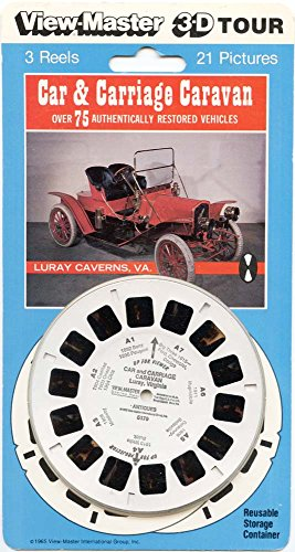 ViewMaster - Car & Carriage Caravan - ViewMaster Reels 3D - NEW - Carriage Caravan
