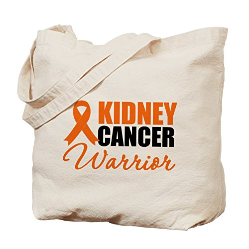 Cafepress–Kidney Cancer Warrior–Borsa di tela naturale, tessuto in iuta