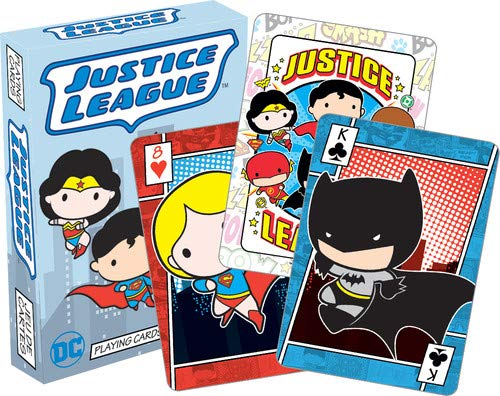 Aquarius DC Comics Chibi Playing Cards ()