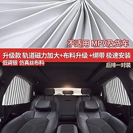 Telescopic Universal Car-Mounted Magnetic Sunshade Automobile Sunshade Sunscreen Thermal Insulation Sunshade Curtain