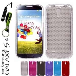 Quaroth YESOO Slim Fit Flexible diamond pattern Argyle Design Gel Skin Case Cover for Samsung Galaxy S4 S IV SIV S 4 Iv...