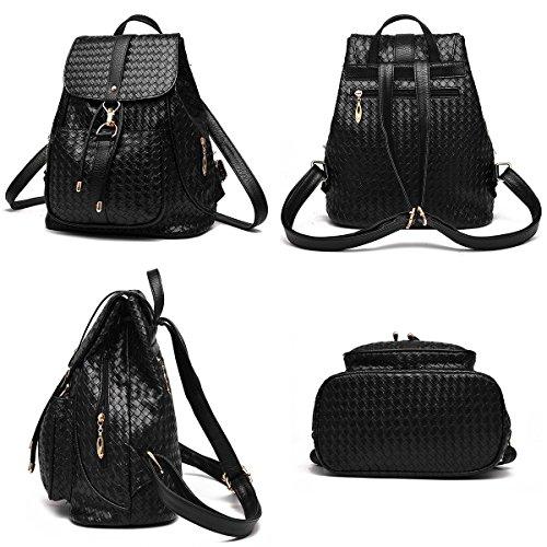 pour sac nylon mode les étanche Tibes filles Noir à dos en dos à sac Noir A qwXfSv