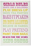 The Kids Room by Stupell Girls Rules