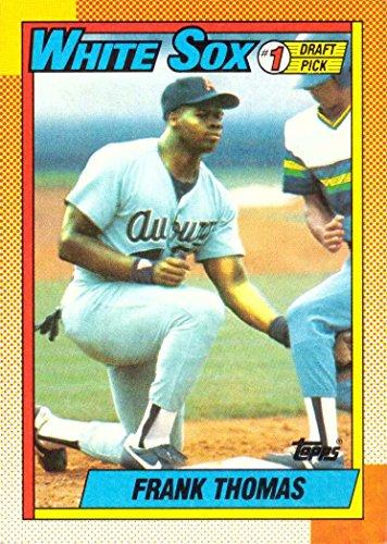 1990 Topps Baseball #414 Frank Thomas Rookie Card