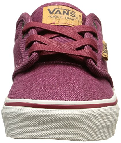 Rojo Vans Zapatillas red Niños Atwood marshmallow washed Twill Deluxe 7ZZCBq