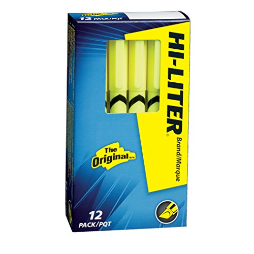 hi-liter-pen-style-chisel-tip-fluorescent-yellow-box-of-12-23591