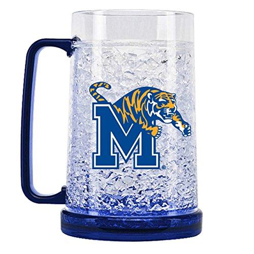 NCAA Memphis Tigers 16oz Crystal Freezer Mug