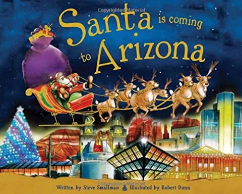 Santa Is Coming to Arizona (Coming To America Blu)