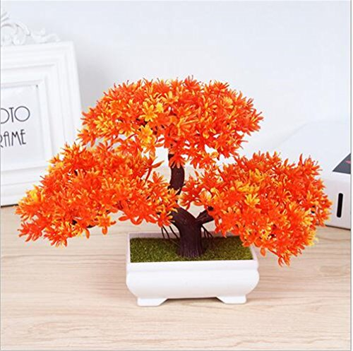 Outdoor Lighted Potted Tree - 7