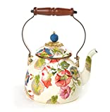 MacKenzie-Childs Morning Glory Tea Kettle - 2 Quart